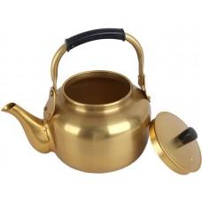أباريق الشاي من نحاس ، اصفر - مقاس 2 لتر